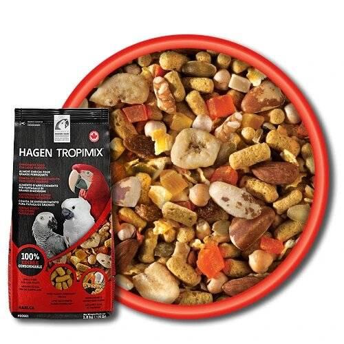 Супер Храна за голям папагал – Hagen Hari Tropimix – 1.8 кг Hagen Hari Храни и лакомства Храни за големи папагали Гранулирани храни Всички продукти