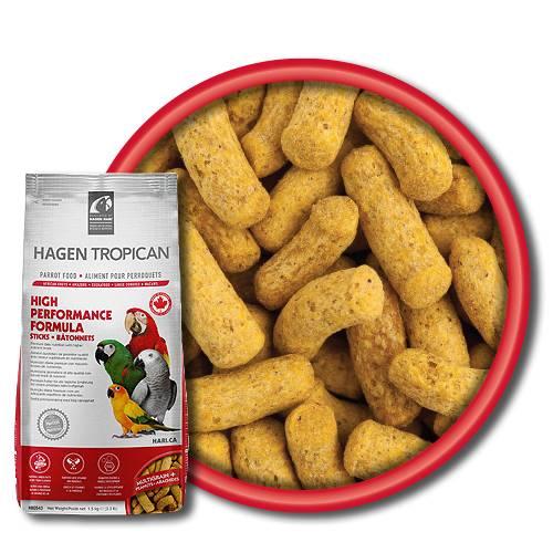 Храна за папагали -СТИК – Висок протеин-1.5кг Hagen Hari Храни и лакомства Храни за големи папагали Гранулирани храни Всички продукти