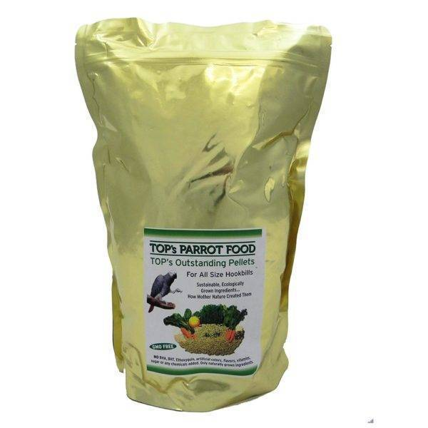 TOP`s -Гранули за Папагал-Органик 1.8 кг Храни и лакомства Храни за големи папагали Гранулирани храни Всички продукти