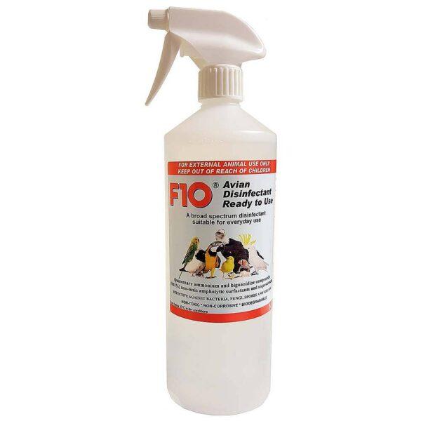 Дезинфектант за птици, F10 -готов за употреба 1 л. Хигиена и козметика Всички продукти