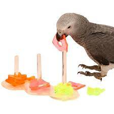 Тройна акрилна играчка за папагал Играчки Големи видове папагали Играчки Всички продукти
