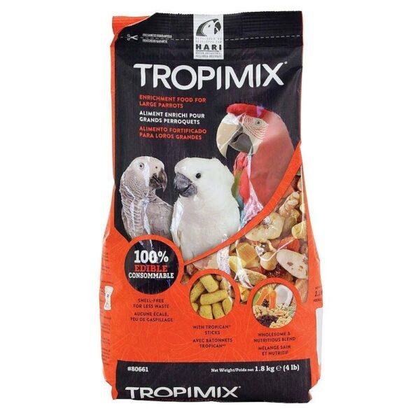 Храна за голям папагал – Hari Tropimix – 1.8 кг Храни и лакомства Храни за големи папагали Гранулирани храни Всички продукти