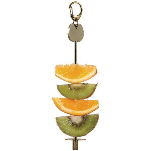 Държач за плодове и различни форми за игра Играчки Големи видове папагали Играчки Средни и Малки папагали Играчки Оборудване-Аксесоари Всички продукти