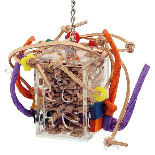 Луда кожена кутия – малка Играчки Средни и Малки папагали Играчки Всички продукти