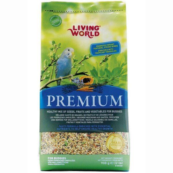 Семена за паапгали -Hagen живият свят 908 гр. Храни и лакомства Храни за малки и средни папагали Сухи семенни миксове Всички продукти