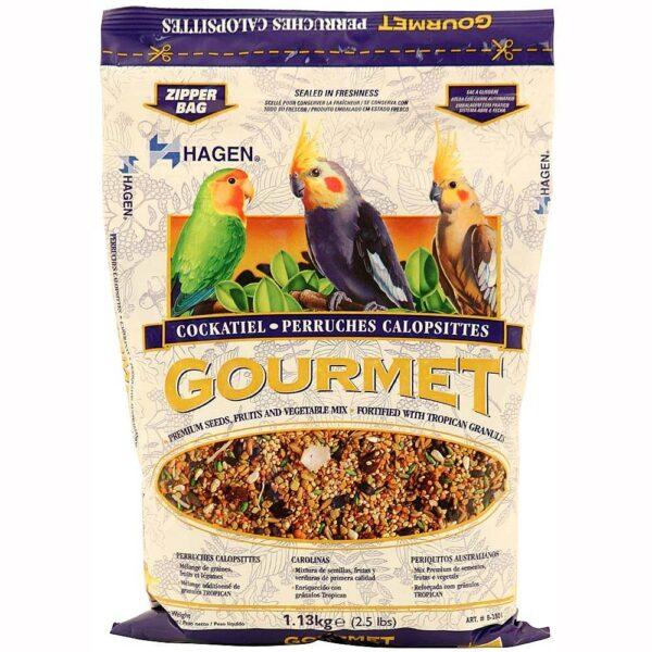 Hagen Гурме – Семена с плодчета зеленчуци и гранулки – 1.13кг Храни и лакомства Храни за малки и средни папагали Сухи семенни миксове Всички продукти