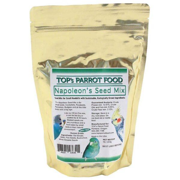 TOP's Органични семена за накисване- супер здравословно 453 гр. Храни и лакомства Храни за малки и средни папагали Семена за покълване и варива Лакомства и Други Всички продукти