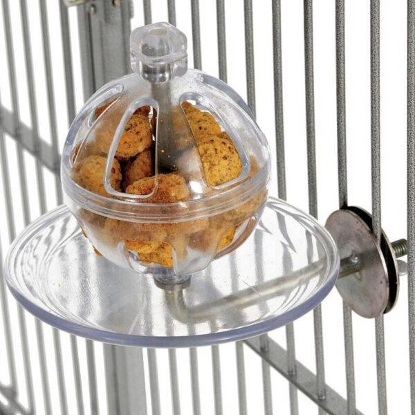 Топка бюфет – Играчка за трудна храна Играчки Големи видове папагали Хранилки и Поилки Играчки Всички продукти