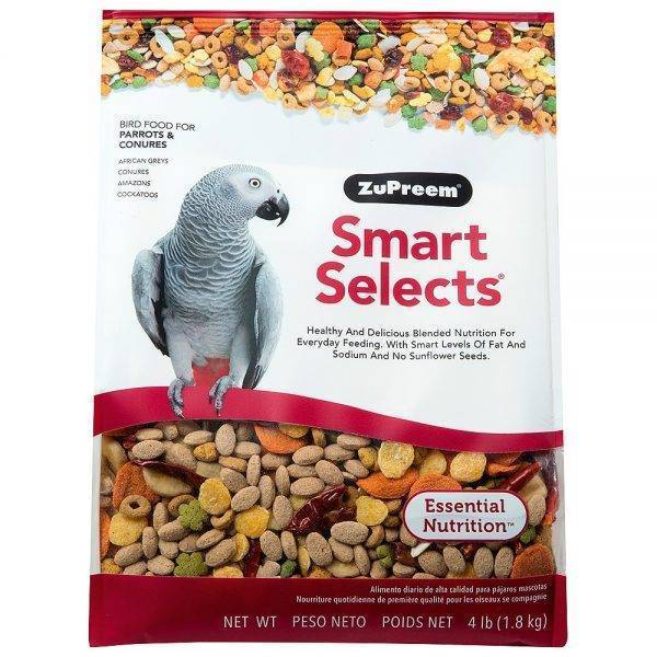 o. – ZuPreem Смарт селект – Пълноцена храна – 1.8 kg Храни и лакомства Храни за големи папагали Гранулирани храни Всички продукти