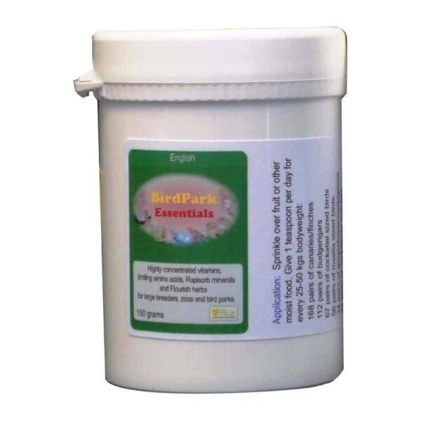 Bird Park- Съществен елемент -100 гр. Витамини-Минерали и Добавки Развъждане и Плодовитост Всички продукти