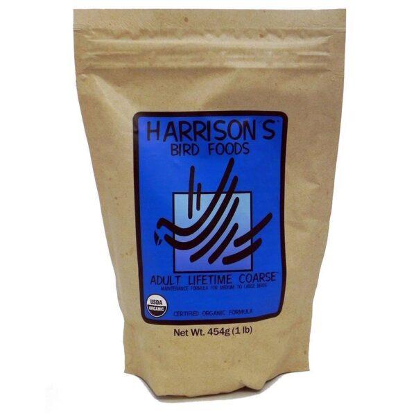 Гранула за папагали-Harrison`s – Органик- 450 гр. Храни и лакомства Храни за големи папагали Гранулирани храни Всички продукти
