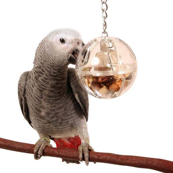 Играчка за Папагал-Висяща бюфетна топка Играчки Големи видове папагали Играчки Всички продукти