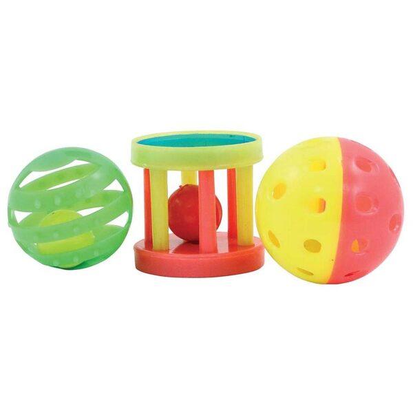 Детски играчки за папагали – опаковка от 3 бр Играчки Големи видове папагали Играчки Средни и Малки папагали Играчки Всички продукти