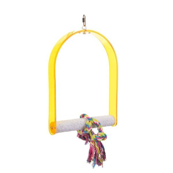 Абразивна люлка за папагали-оформяне на ноктите – голяма Играчки Големи видове папагали Кацалки Играчки Оборудване-Аксесоари Всички продукти