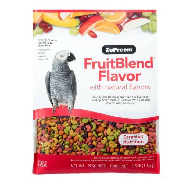 ZuPreem Fruit Blend- Пълноценна храна за папагали 1.6 кг Храни и лакомства Храни за големи папагали Гранулирани храни Всички продукти