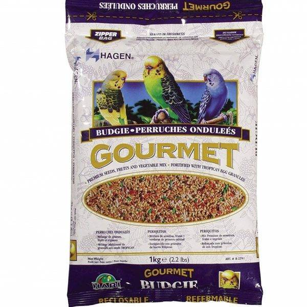 Храна за малки папагали – HAGEN HARI – ГУРМЕ – 1kg Храни и лакомства Храни за малки и средни папагали Сухи семенни миксове Всички продукти