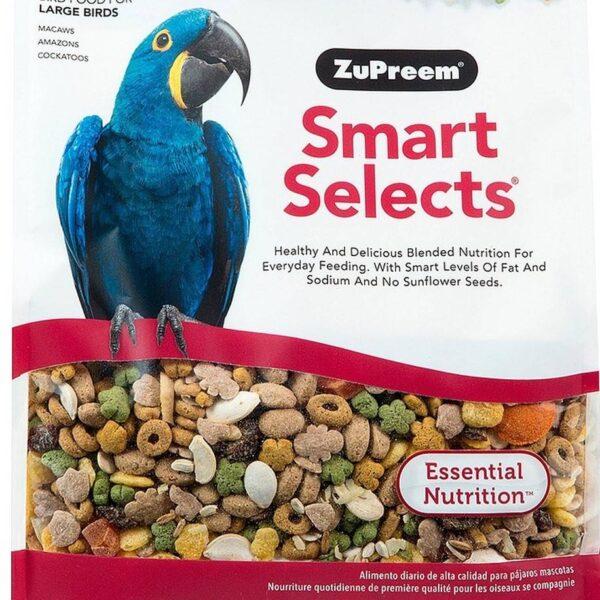 Храна за големи папагали- ZuPreem Smart Selects1.8 кг Храни и лакомства Храни за големи папагали Гранулирани храни Всички продукти