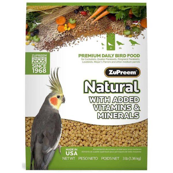 Пълноценна храна за Корели -ZuPreem Natural 1.1 кг Храни и лакомства Храни за малки и средни папагали Гранулирани храни Всички продукти