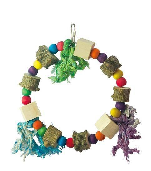 Люлка-шарено дърво Играчки Играчки - Средни и Малки папагали Оборудване-Аксесоари Всички продукти