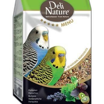 Храна за папагали-DELI NATURE – ВЪЛНИСТИ и неразделки 800 гр. Храни и лакомства Храни за малки и средни папагали Сухи семенни миксове Всички продукти