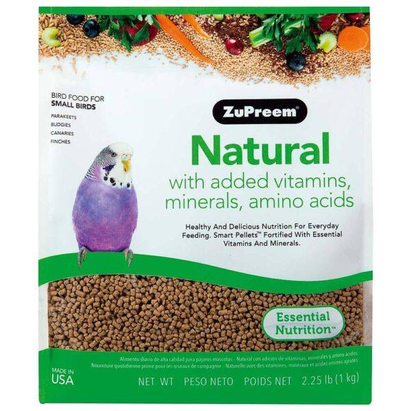 Храна за малки папагали- Натурален вкус- ZuPreem – 1 кг. Храни и лакомства Храни за малки и средни папагали Гранулирани храни Всички продукти