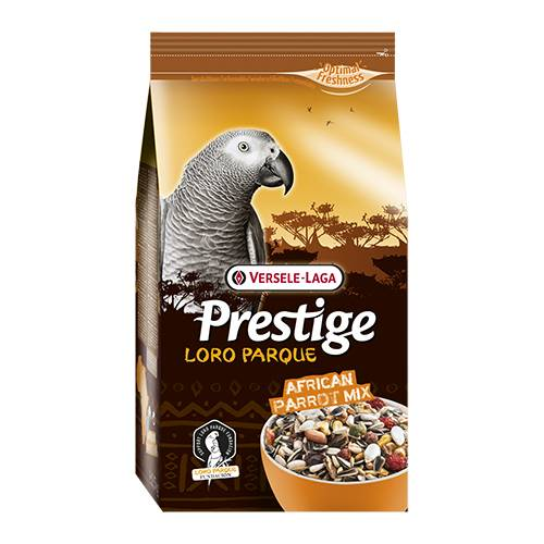 ХРАНА ЗА АФРИКАНСКИ ПАПАГАЛИ – LORO PARQUE MIX- 1 кг Храни и лакомства Храни за големи папагали Сухи семенни миксове Всички продукти