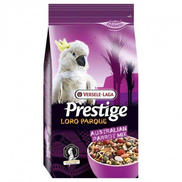 ХРАНА ЗА АВСТРАЛИЙСКИ ГОЛЕМИ ПАПАГАЛИ-1 кг. Храни и лакомства Храни за големи папагали Сухи семенни миксове Всички продукти