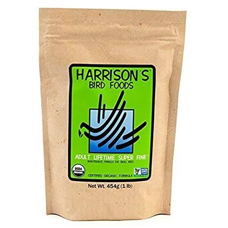 Harrison`s – Ежедневна храна за малки папагали- Органик 454 гр Храни и лакомства Храни за малки и средни папагали Гранулирани храни Всички продукти