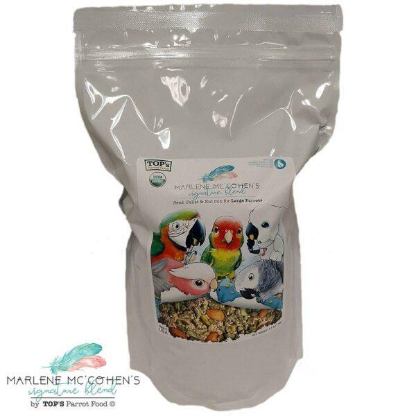 Top's Органична храна -Marlene Mc`Cohens – 1.1 кг. Храни и лакомства Храни за големи папагали Гранулирани храни Всички продукти