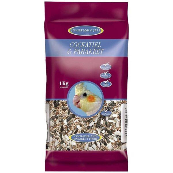 Johnston & Jeff – Семенен микс за Корели и Средни папагали 1 кг. Храни и лакомства Храни за малки и средни папагали Сухи семенни миксове Всички продукти