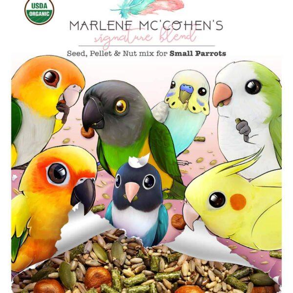 Marlene Mc`Cohens – Ключово Преливане – Малки Папагали – 1.1 кг. Храни и лакомства Храни за малки и средни папагали Гранулирани храни Всички продукти