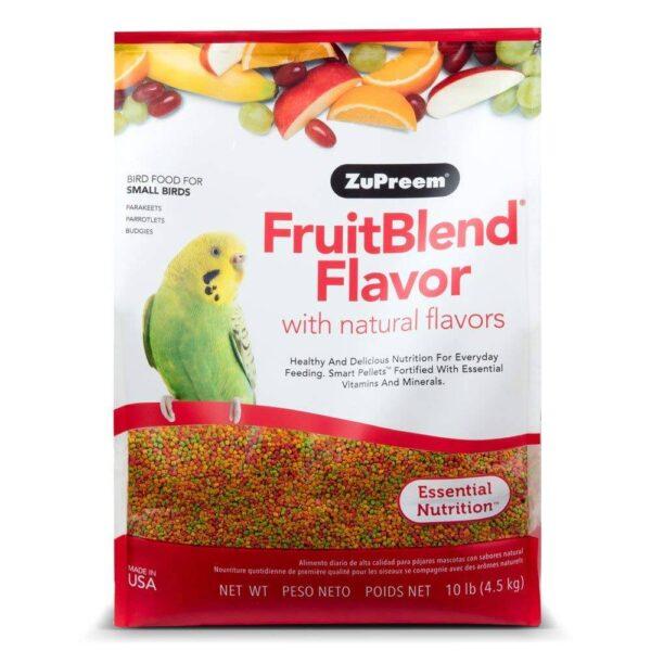 ZuPreem FruitBlend – Храна за Вълнисти Папагали и Неразделки – 400 гр. Храни и лакомства Храни за малки и средни папагали Гранулирани храни Всички продукти