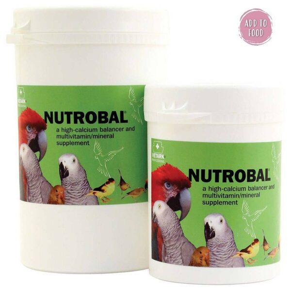 Nutrobal -Калций -мултивитамини- минерали + вит D3 – 100гр Витамини-Минерали и Добавки Калциеви добавки и минерали Развъждане и Плодовитост