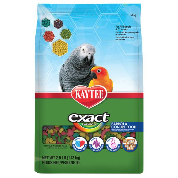Kaytee – Храна за Африкански папагали и Аратинга 1.13 кг, Храни и лакомства Храни за големи папагали Гранулирани храни Всички продукти