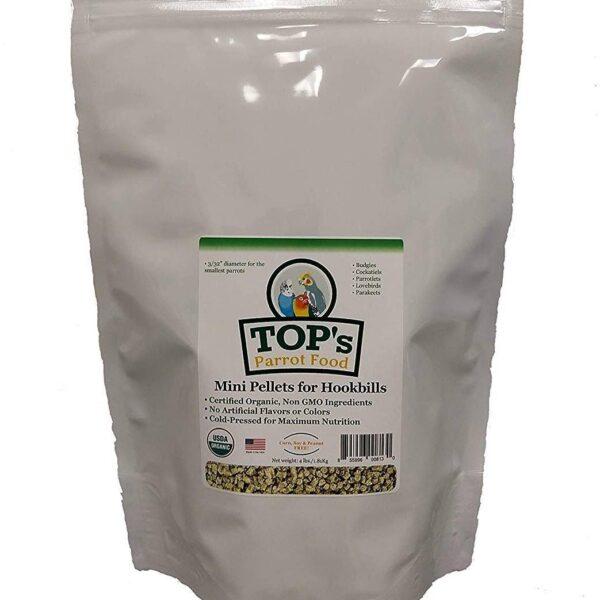 l/ TOP'S – Органични мини гранулки 453 гр. Храни и лакомства Храни за малки и средни папагали Гранулирани храни Всички продукти