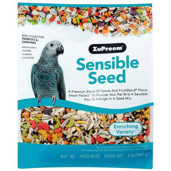 Zupreem -Храна за папагали- Семена и Гранулки- 907 гр. Храни и лакомства Храни за големи папагали Гранулирани храни Сухи семенни миксове Всички продукти