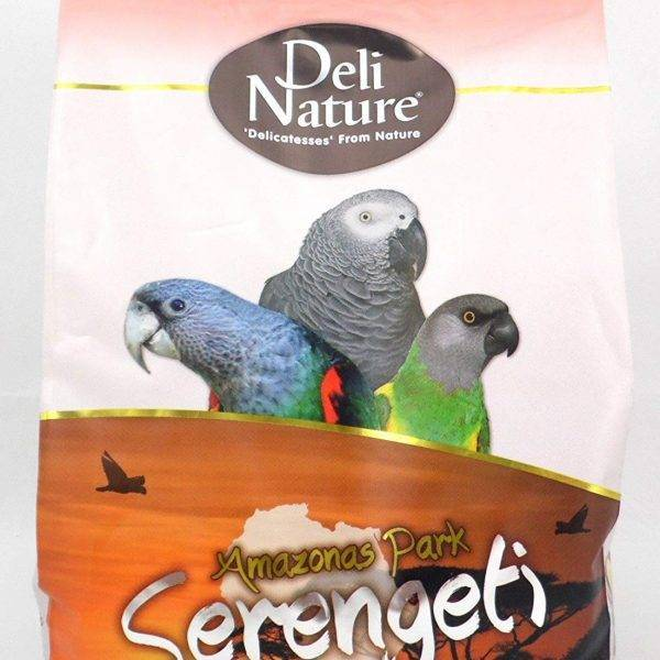 Deli Nature Amazonas Park – за всички видове Aфрикански папагали 2 кг. Храни и лакомства Храни за големи папагали Сухи семенни миксове
