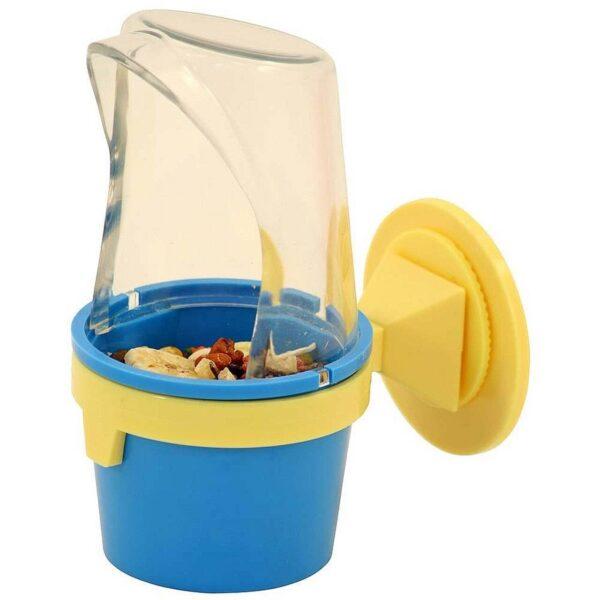 Купа за храна и вода с предпазен борд – Средна Хранилки и Поилки Оборудване-Аксесоари Всички продукти