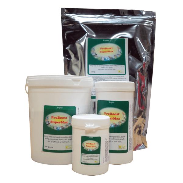 PRO BOOST SUPERMAX 1.5KG The Birdcare Company Добавки към Храната Развъждане и Плодовитост Всички продукти