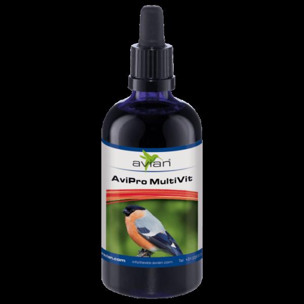 Avian AviPro – Мултивитамини 50мл. Лечебни - Терапевтични Aves - Avian Добавки към Храната Подсилване на имунитета Срещу стрес и умора Всички продукти