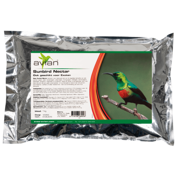 Avian – Sunbird Нектар Aves - Avian Храни и лакомства Храни за малки и средни папагали Нектари Всички продукти