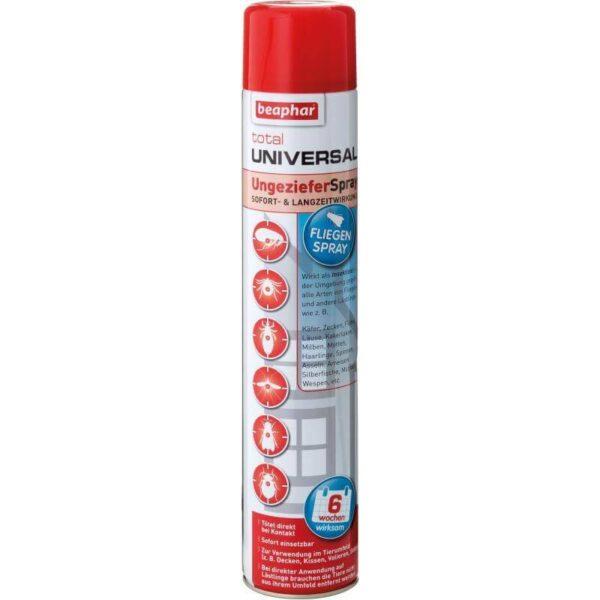 Универсален-Широкоспектърен-Антипаразитен спрей 750 мл Beaphar Хигиена Kозметика Обезпаразитяване Всички продукти