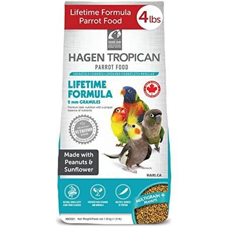 Ежедневна гранула Tropican- Hagen Hari -1.8 кг. ПАЗАРУВАНЕ ПО МАРКА Hagen Hari Храни за малки и средни папагали Гранулирани храни Всички продукти
