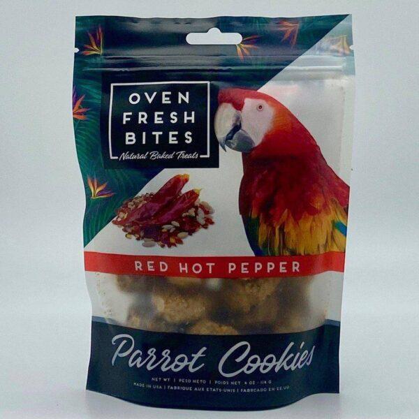 Лакомство – Печени бисквитки за папагали с люта чушка113 гр.
