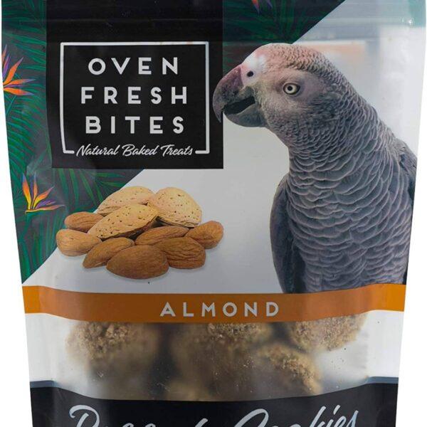 Лакомство – Печени бисквитки за папагали с бадеми113 гр.