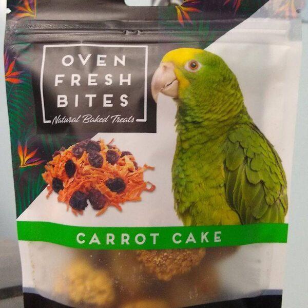 Лакомство – Печени бисквитки за папагали с морков и стафиди113 гр.