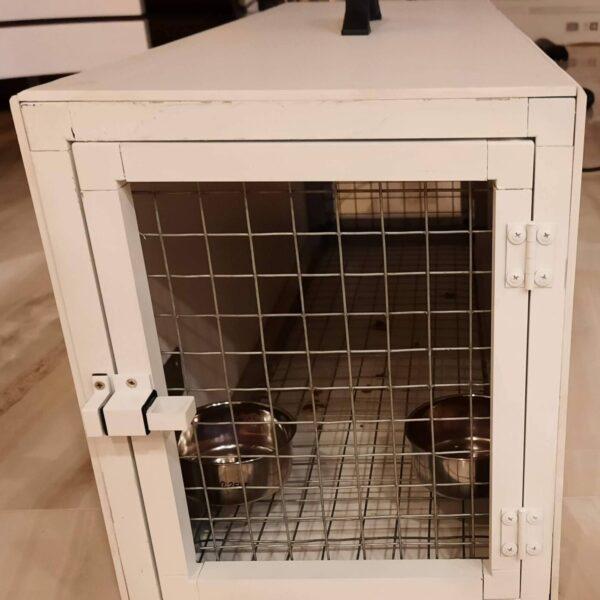 Транспортна Кутия за Ара със заключващи купички -2 входа Транспортни Клетки и Раници Клетки и волиери Всички продукти