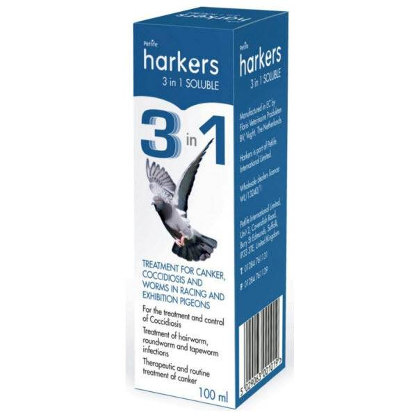 HARKERS 3 в 1 РАЗТВОРИМ