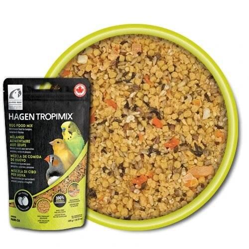 Hagen Hari Tropimix – Яйчна Премиум храна за Вълнисти папагали и Неразделки 908 гр.