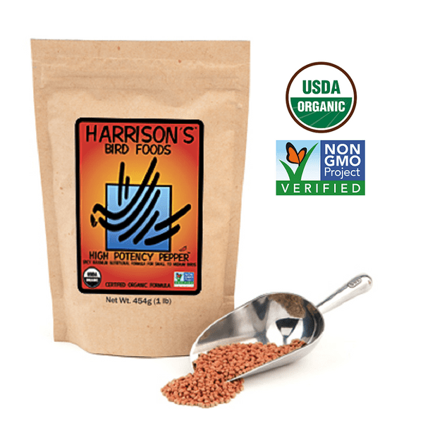 Harrison`s High Potency Fine Pepper – с Люти чушки за малки видове 454 гр.